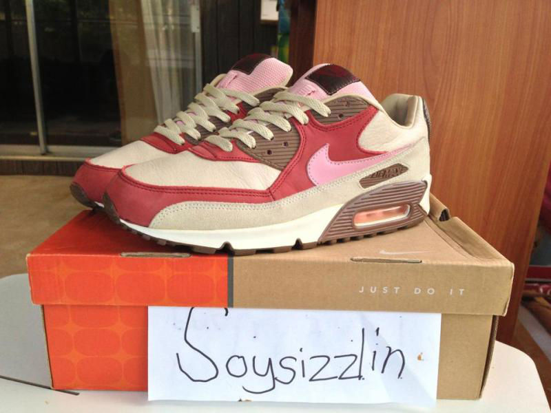 Spotlight // Pickups of the Week 7.28.13 - DQM x Nike Air Max 90 Bacon by soysizzlin