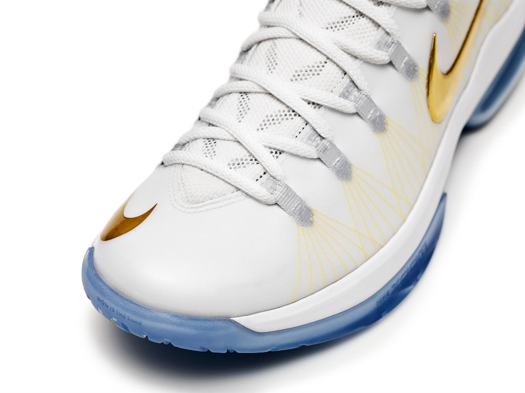 Nike KD V Elite+ White Gold (3)
