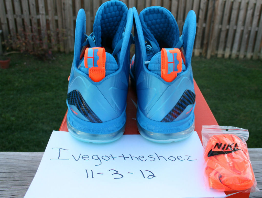 Nike LeBron 9 P.S. Elite China Blue Flame (4)