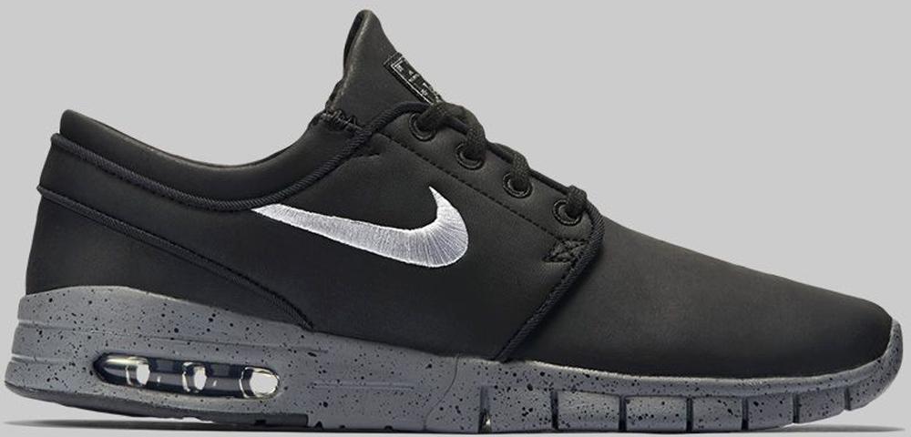 Nike Stefan Janoski Max L SB Black/Cool Grey-Metallic Cool Grey