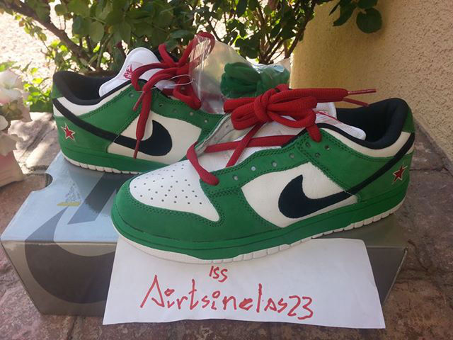 Spotlight // Pickups of the Week 7.21.13 - Nike Dunk Low SB Heineken by airtsinelas23