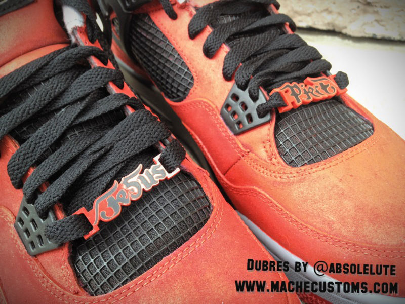 Air Jordan IV 4 Jesus Piece for The Game by Mache Custom Kicks (2)