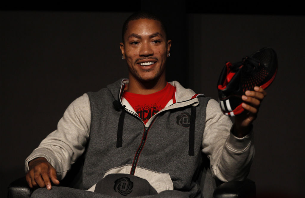 Best Selling NBA Signature Athletes // #5 Derrick Rose