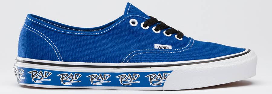 faf0b2795b1b59 Vans Rad Authentic Blue
