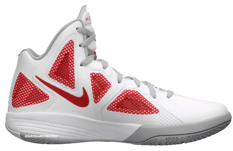 quality design e066b bbdc6 Nike Zoom Hyperfuse 2011 White Metallic Luster Sport Red 454136-101