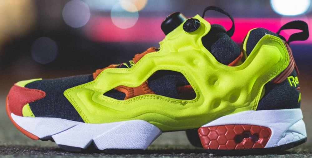 Reebok Instapump Fury Hyper Neon/Black-China Red