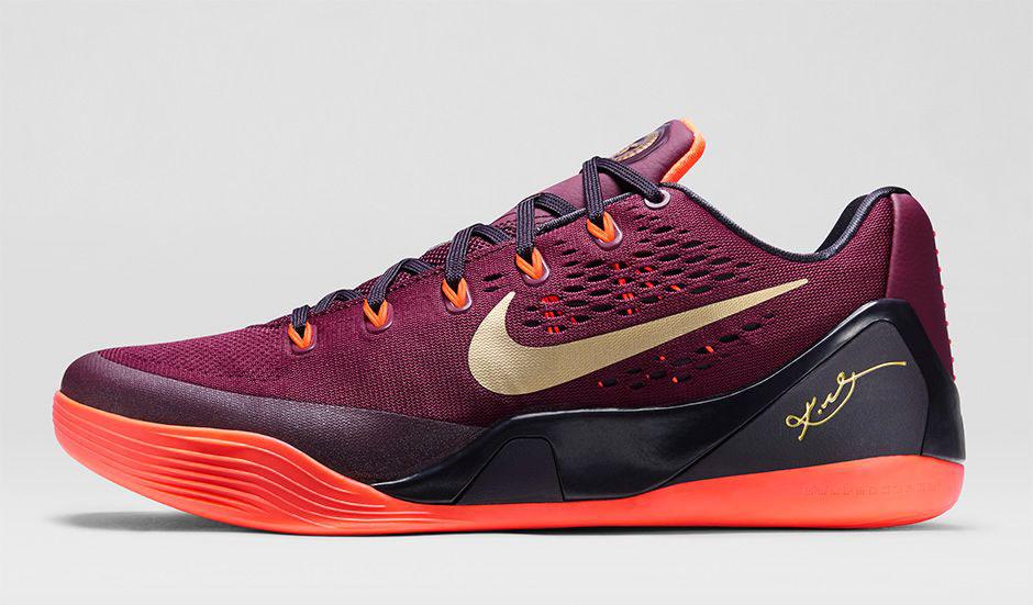 innovative design 9af05 44486 Nike Kobe IX 9 EM Deep Garnet 646701-678 (2)