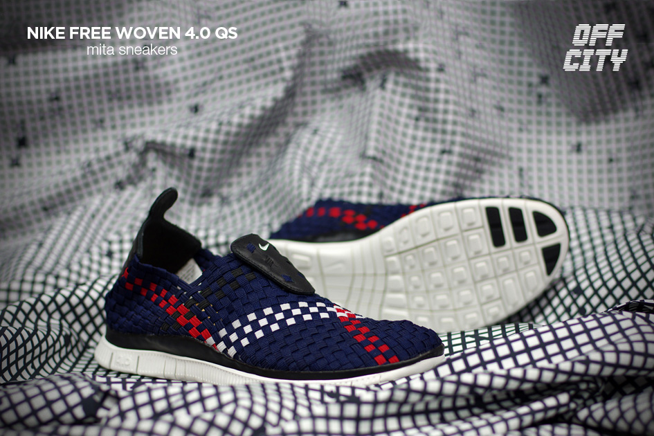 mita sneakers x Nike Free Woven 4.0 QS Off City