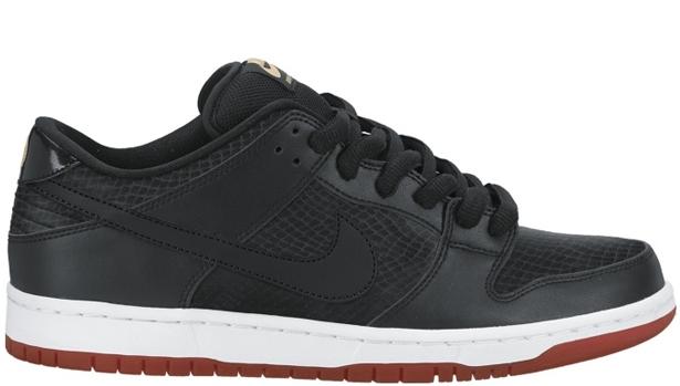 Nike Dunk Low Premium SB Black/Black-University Red