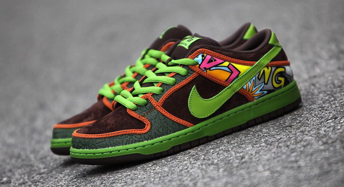hot sale online 22303 98433 ... Nike SB Dunk Low Premium De La Soul Release Date 051615. Price 135 THE NIKE  SB DUNK HI Exclusive ...