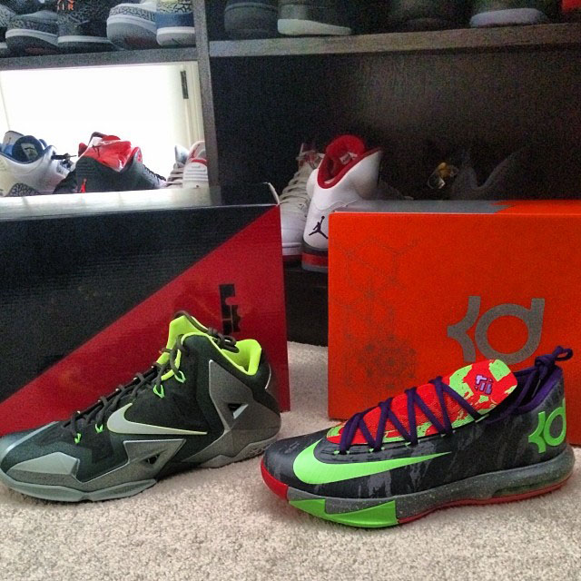 d142fba3abfed0 Joe Haden Picks Up Nike LeBron 11 Dunkman