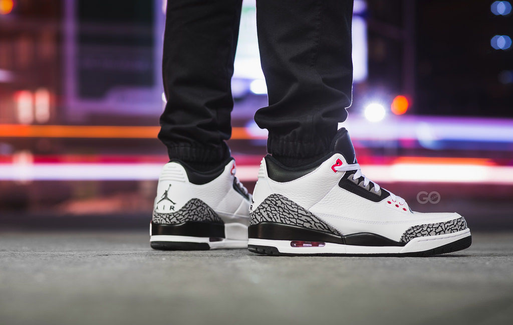 d02eb52a91f ... reduced sgo8 wearing the infrared 23 air jordan iii 3 1c672 1be43