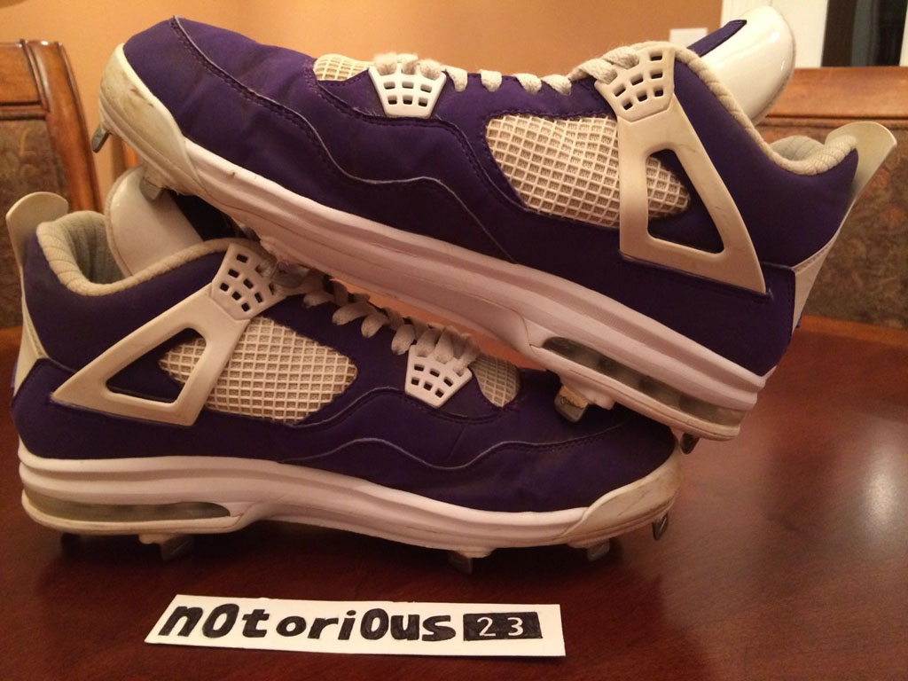 Air Jordan IV 4 Purple Suede Sunset Apollos PE (10)