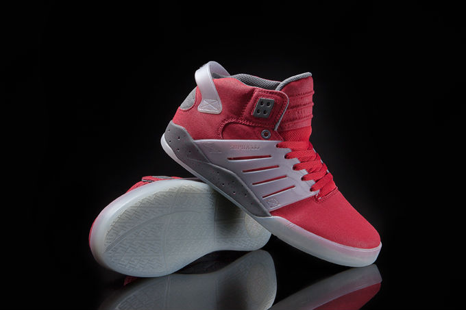 Supra Skytop III Red Waxed Canvas (1)
