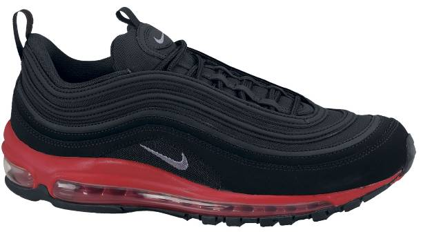 new air max black and red