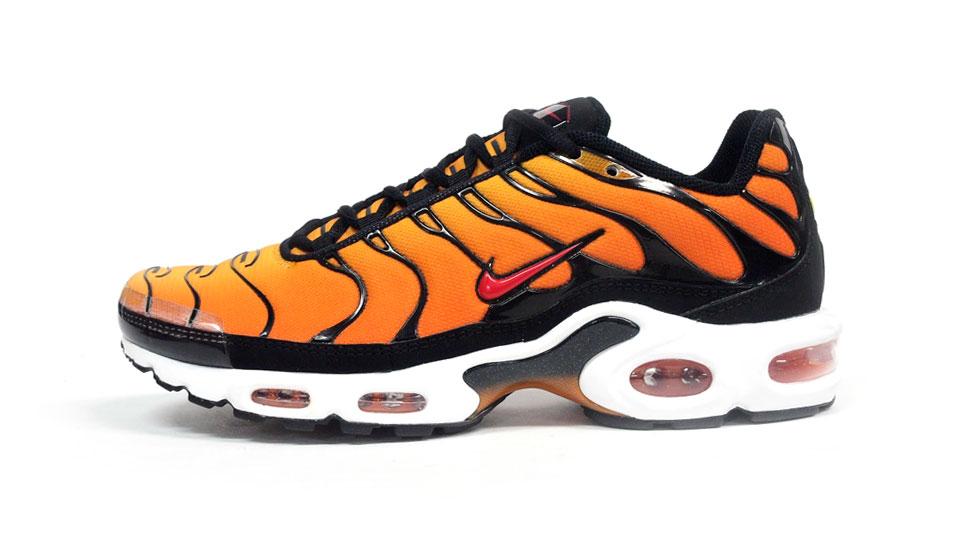 Nike Air Max Plus Tour Yellow Team Orange Black