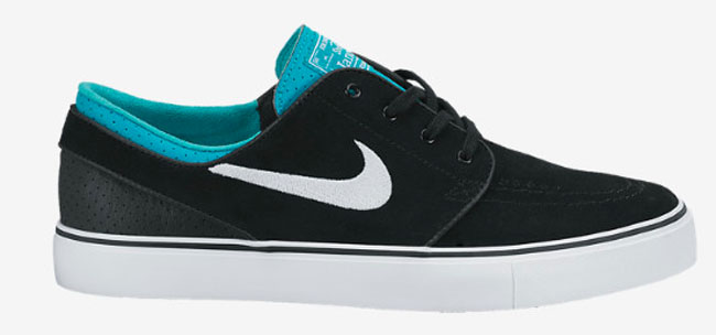 half off d41f4 64d28 Nike Skateboarding Zoom Stefan Janoski Base Grey  White  Venom Green