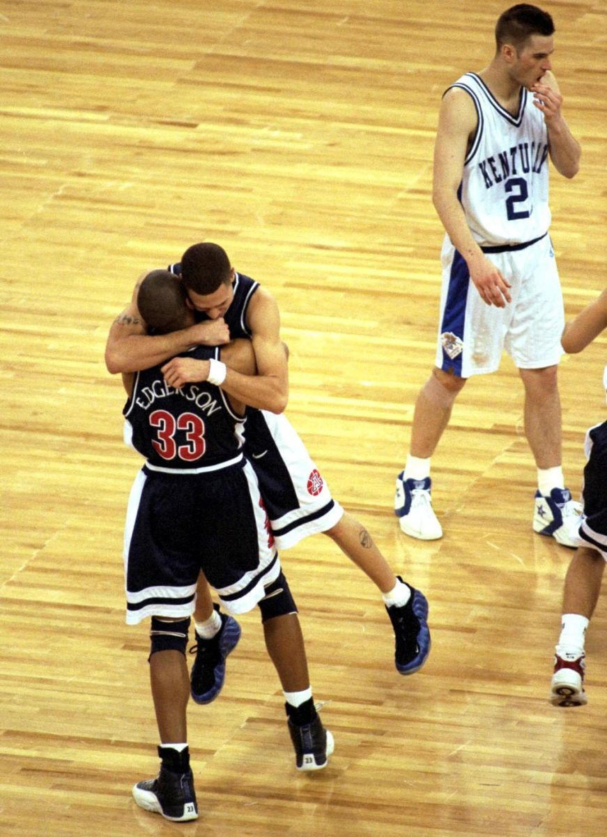 2c29dc6c4a30e Let s go back to where it all began with Mike Bibby wearing them in March  of 1997 on the way to an NCAA championship.