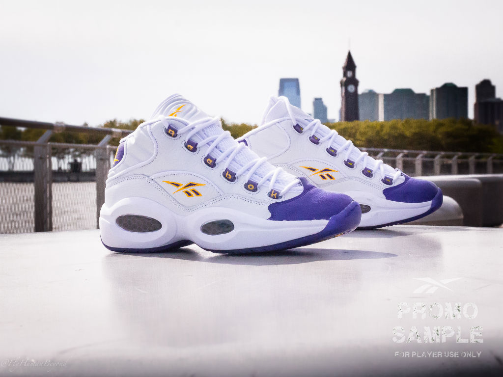 ce31f1041bad Packer Shoes x Reebok Question LeBron   Kobe  For Player Use Only ...