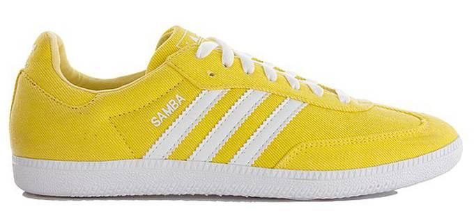Sole 'lemon - Collector Originals Adidas Samba Yellow'