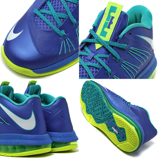 dedc01834c94 Stay tuned to Sole Collector for further details on the Treasure Blue White-Volt  Nike Air Max LeBron X Low.