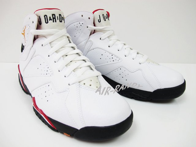 6a906cff73d343 Air Jordan Retro 7 White Bronze Cardinal Red Black 304775-104