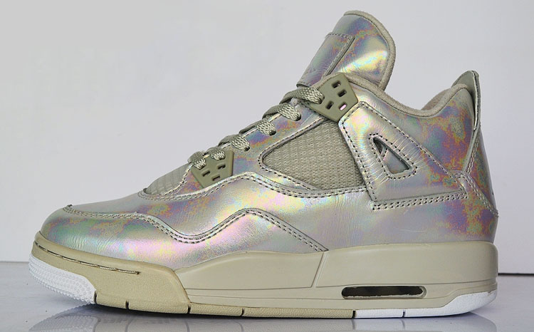 Air Jordan IV 4 Girls Pearl Release Date 742639-045