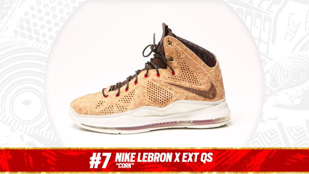 "Complex Best of 2013: Nike Lebron X EXT ""Cork"" is the #7 Sneaker of the Year"