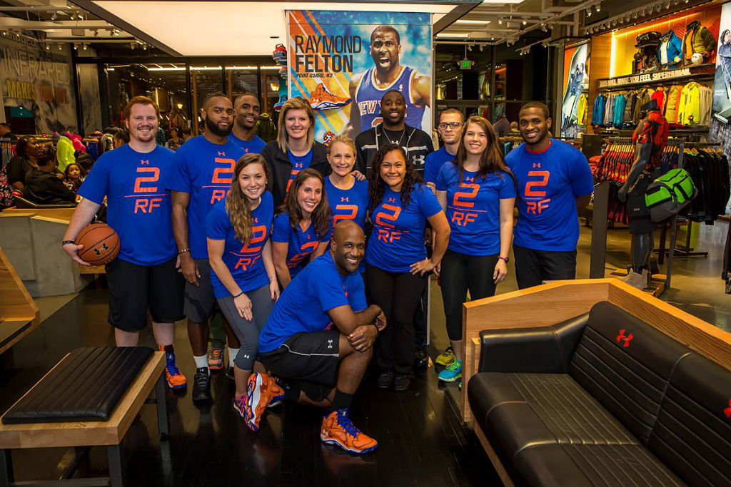 Raymond Felton Visits Under Armour Campus & Brandhouse (15)