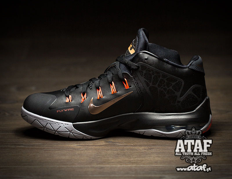 new concept 37aa0 e4c4d Nike LeBron Ambassador 7. Color  Black Metallic Red Bronze-Hot Lava-Wolf  Grey Style    705269-098