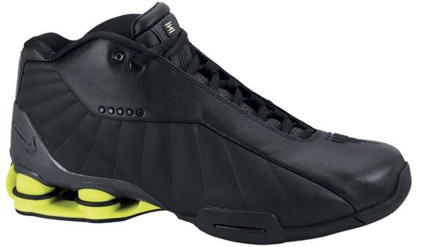 Nike Shox BB4 HOH Black/Black-Volt
