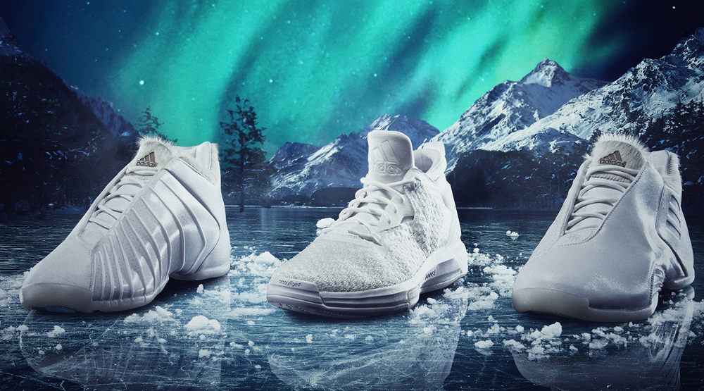 Adidas All Star Triple White Collection
