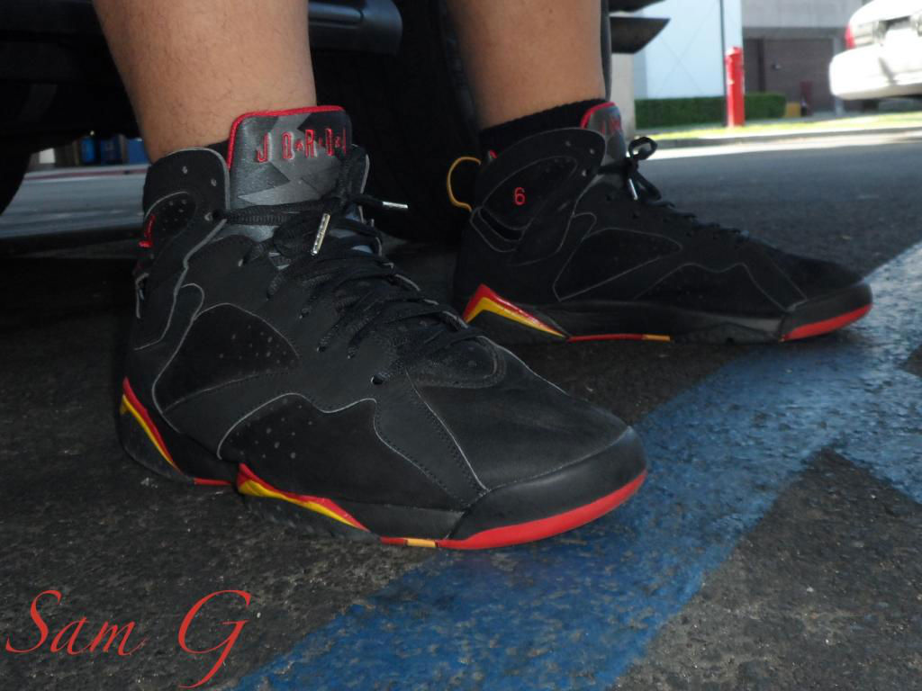 Spotlight // Forum Staff Weekly WDYWT? - 10.12.13 - Air Jordan 7 VII Eddie Jones Heat PE by lashoecollector
