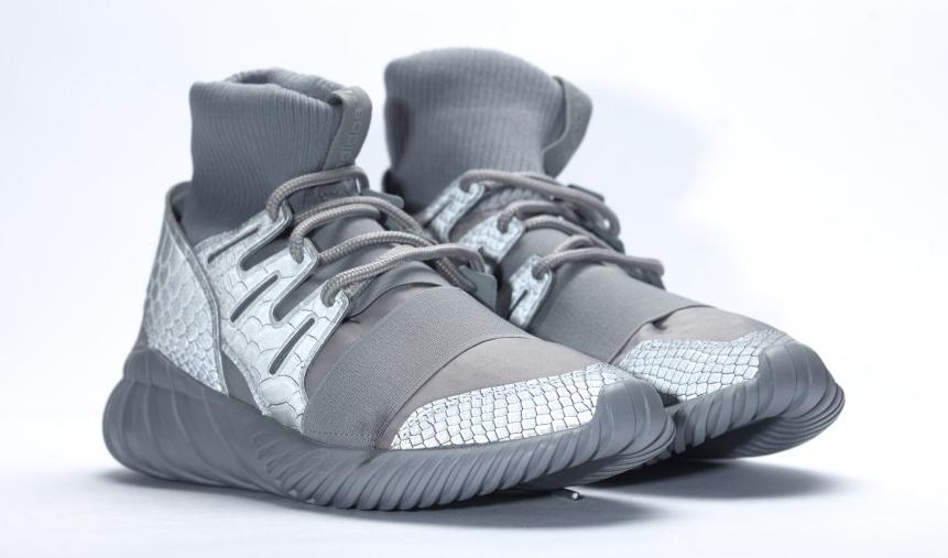 6d684f2f222e Adidas Uses Reflective Snakeskin on Tubular Dooms