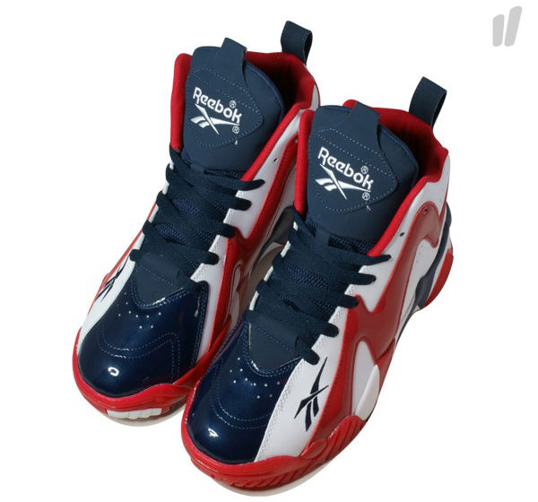 Reebok Kamikaze II White Red Navy V46096 (4)
