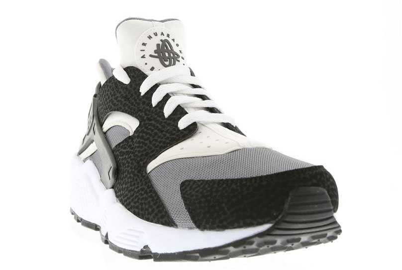 Nike Air Huarache White/Black-Pure Platinum 318429-012 (2)