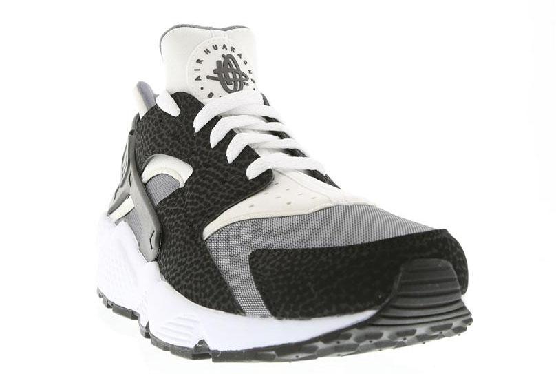 Air Huarache White And Black