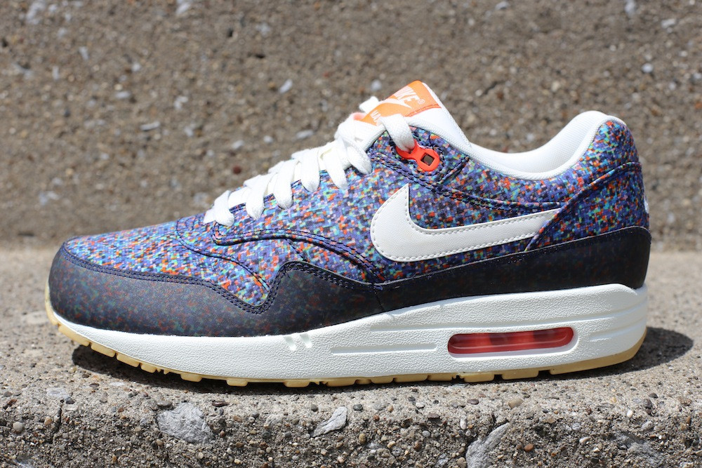 Liberty x Nike WMNS Air Max 1 ND - Hyper Blue / Total Crimson - New Images