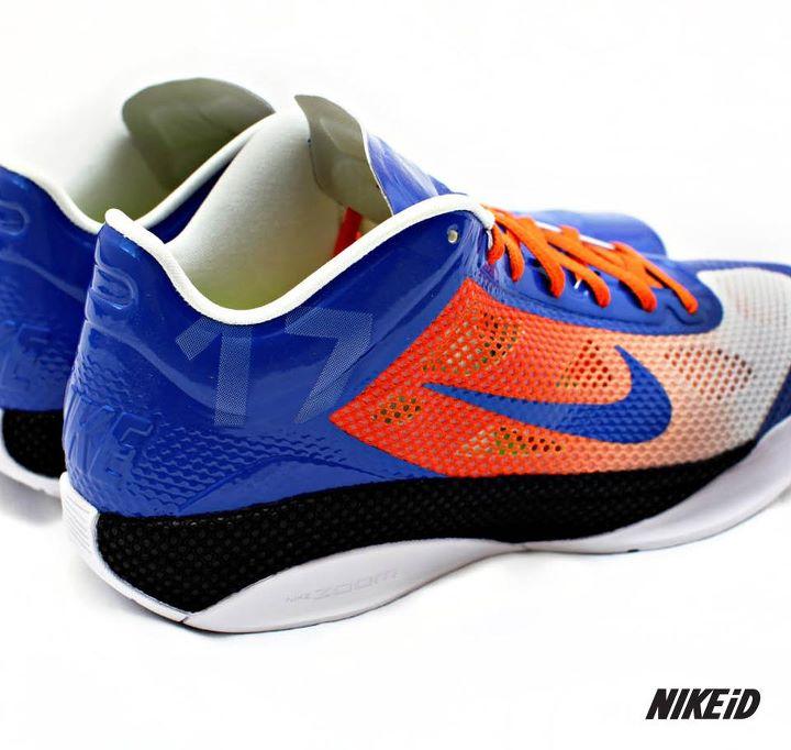 best website c47ea a1593 Nike Zoom Hyperfuse Low Jeremy Lin Rising Stars iD Knicks Shoes (2)