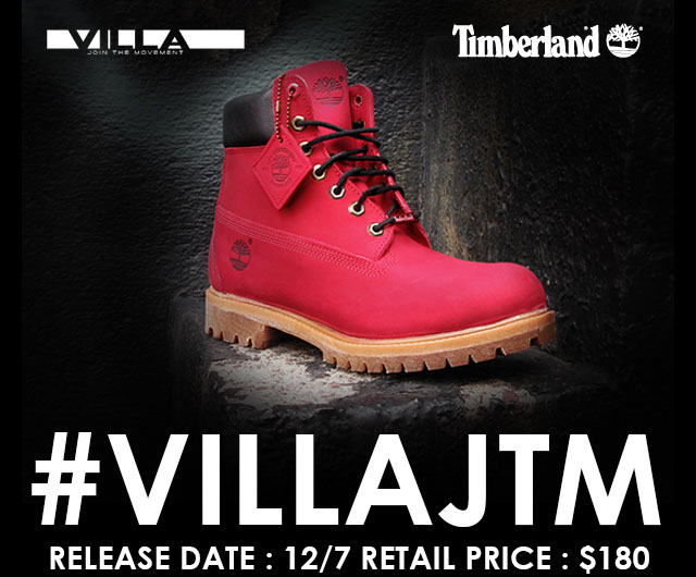 VILLA x Timberland 'JTM' 6-Inch Boot Launch Location List (1)
