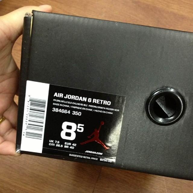 official photos 1fb86 ccf50 ... Air Jordan VI 6 Cigar 384664-350 (7) ...