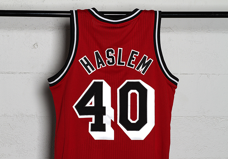low priced 58524 3d1fa Jersey Spotlight // Udonis Haslem Miami Heat Hardwood ...