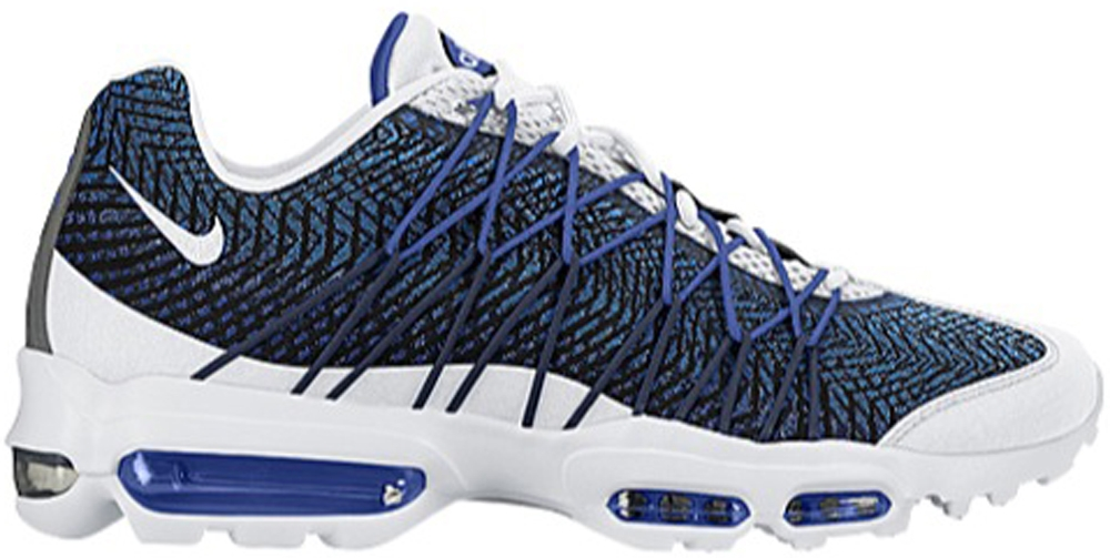 Air Max 95 White And Blue
