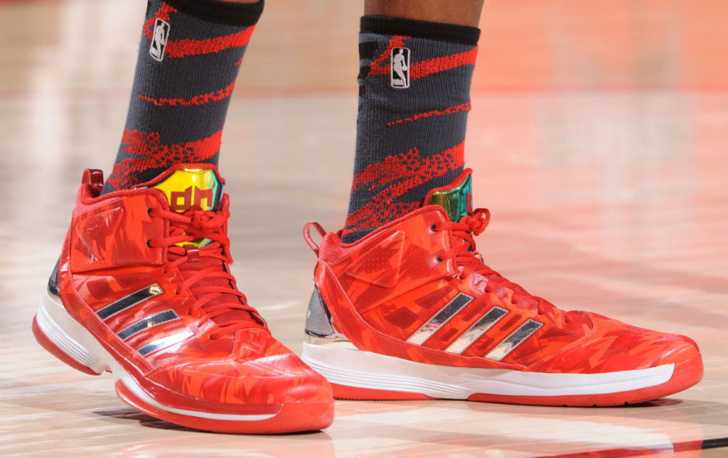 Dwight Howard wearing adidas D Howard Light All-Star (3)