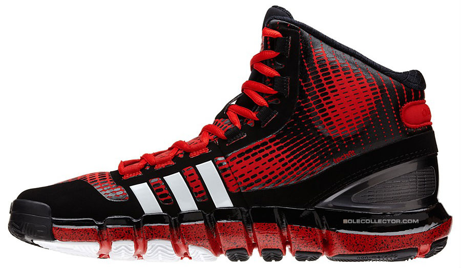 adidas Crazyquick Black Red White Speckle G66811 (2)