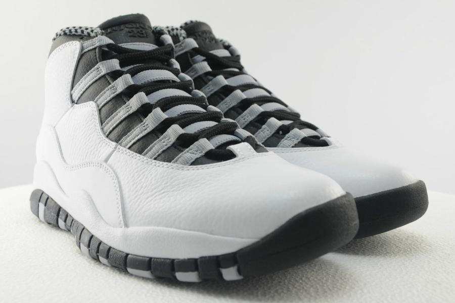 Air Jordan 10 Grey White