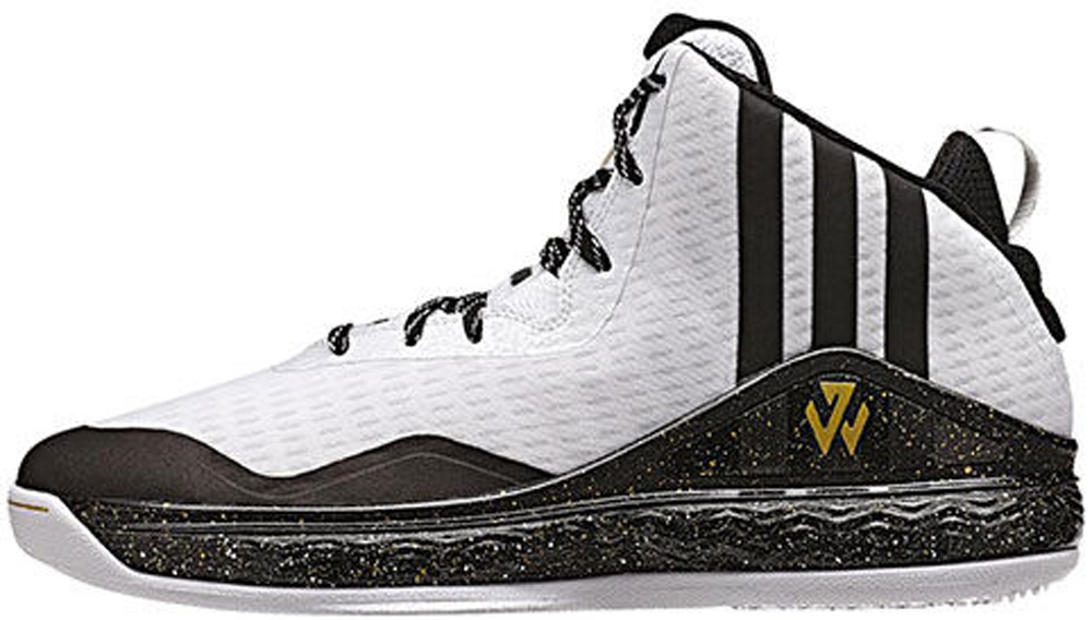 adidas J Wall 1 White/Black-Gold