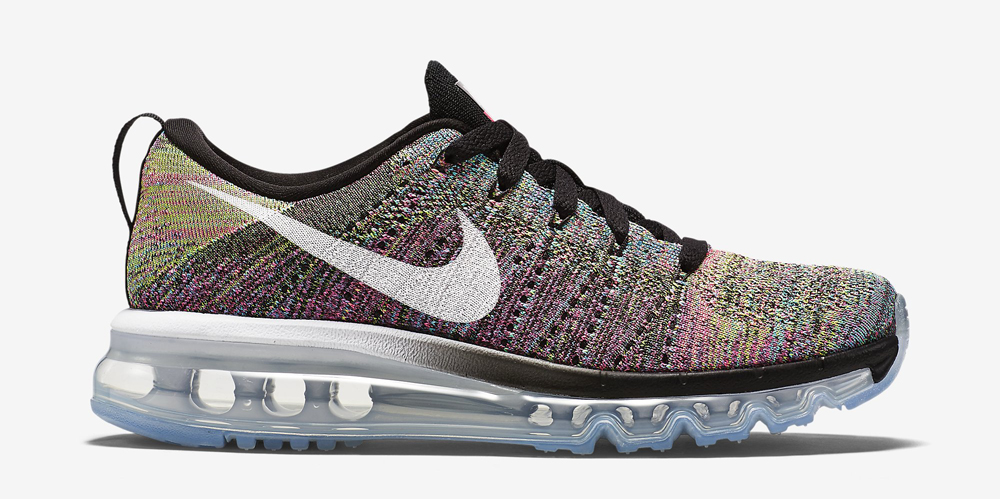 best cheap 033dd 06be1 Nike WMNS Flyknit Air Max Color  Black Pink Pow Chlorine Blue White Style     620659-004. Price   225