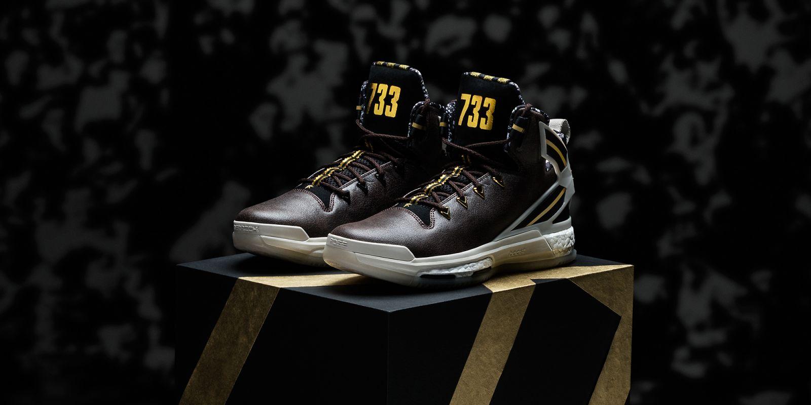 Derrick Rose Black History Month Shoes