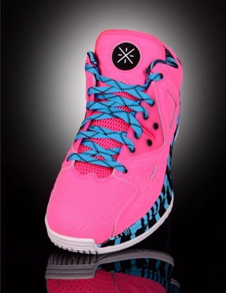 Li-Ning Way of Wade 2 Encore Flamingo (1)